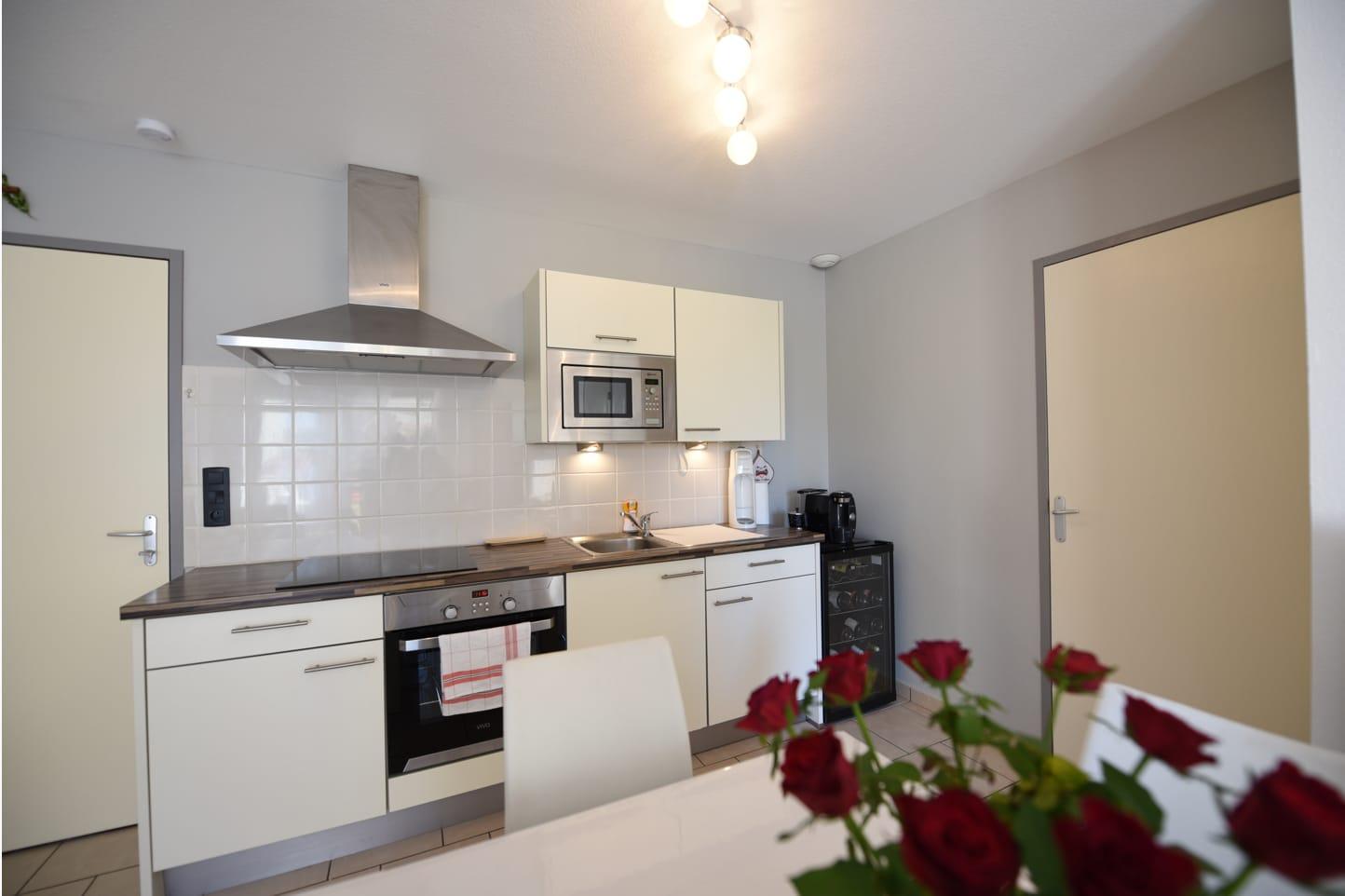 Photo de la cuisine d'un logement des Acacias